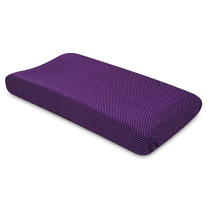Alternate image 1 for Trend Lab® Grape Dot Changing Pad Cover
