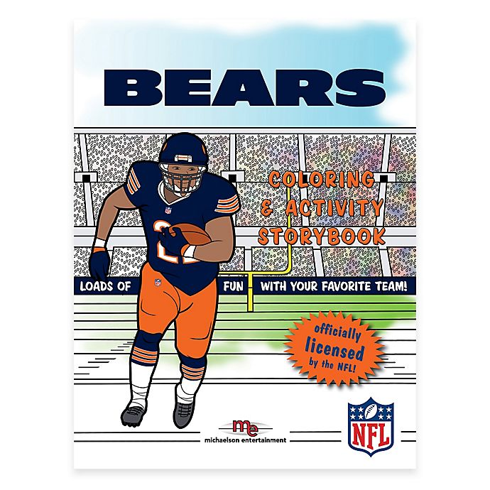 Alternate image 1 for NFL™ Chicago Bears Coloring and Activity Storybook