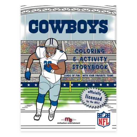 Nfl Dallas Cowboys Coloring And Activity Storybook Bed
