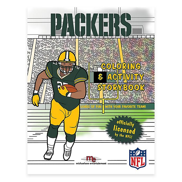 Alternate image 1 for NFL™ Green Bay Packers Coloring and Activity Storybook
