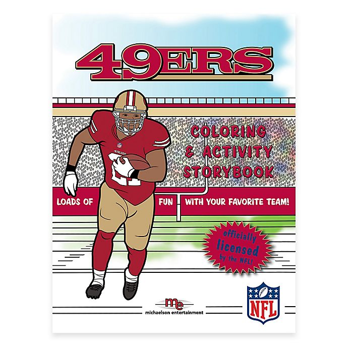 Alternate image 1 for NFL™ San Francisco 49ers Coloring and Activity Storybook