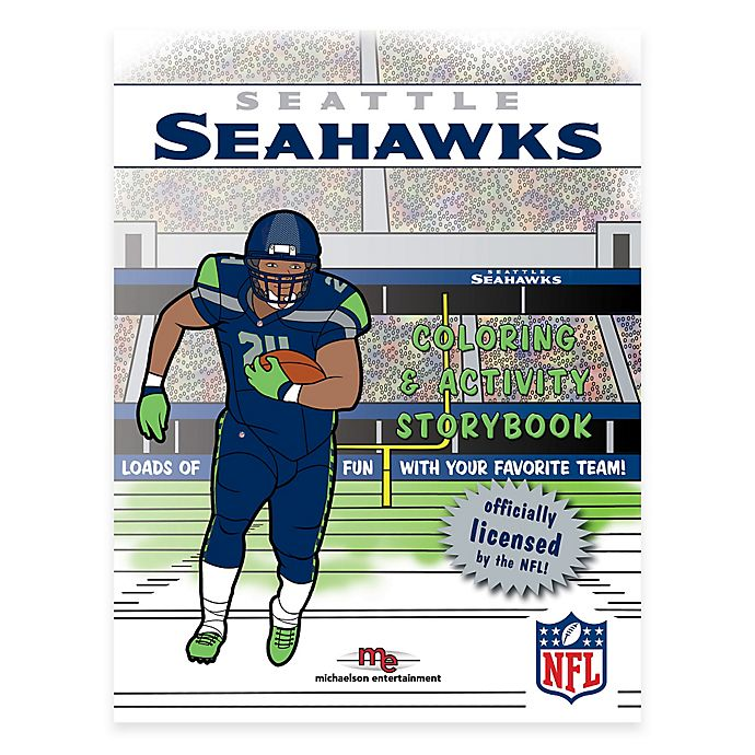 Alternate image 1 for NFL™ Seattle Seahawks Coloring and Activity Storybook