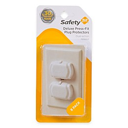 Safety First Deluxe Press Fit Outlet Cover