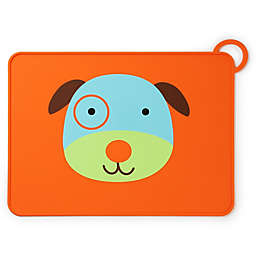 SKIP*HOP® Zoo Reusable Dog Fold & Go Silicone Placemat