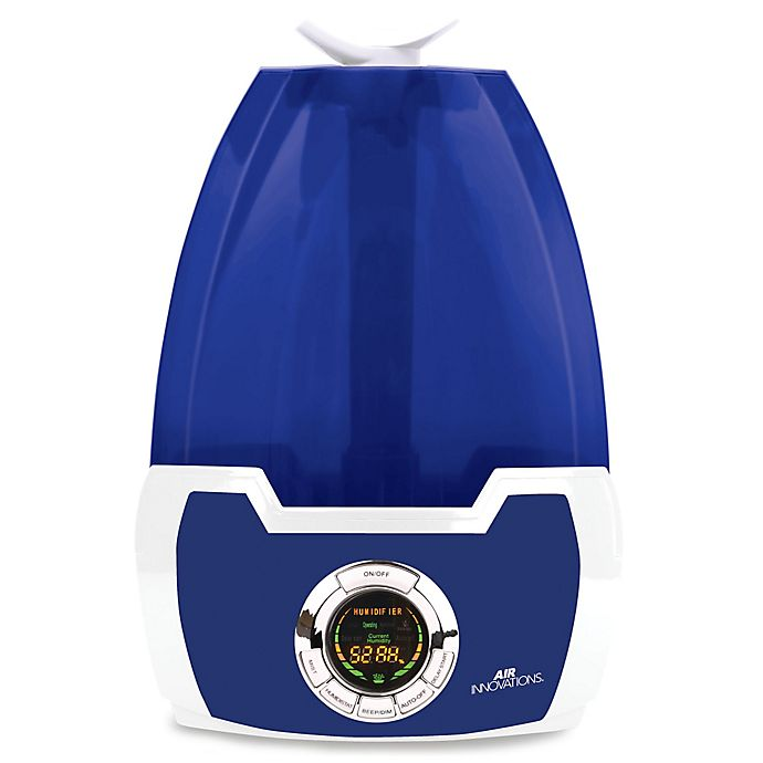 Alternate image 1 for Air Innovations 1.6 Gallon Clean Mist Digital Humidifier in Blue