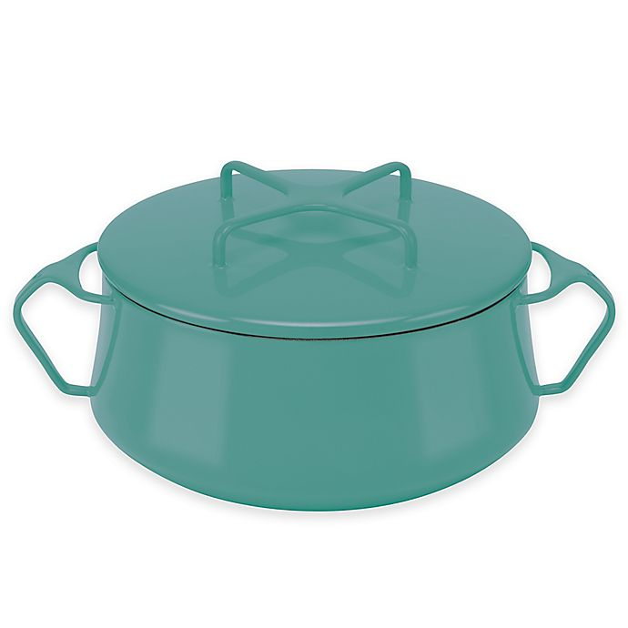 Alternate image 1 for Dansk® Kobenstyle 2 qt. Casserole in Teal
