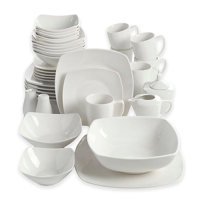 Alternate image 1 for Gibson Overseas Amalfa 37-Piece Dinnerware Set