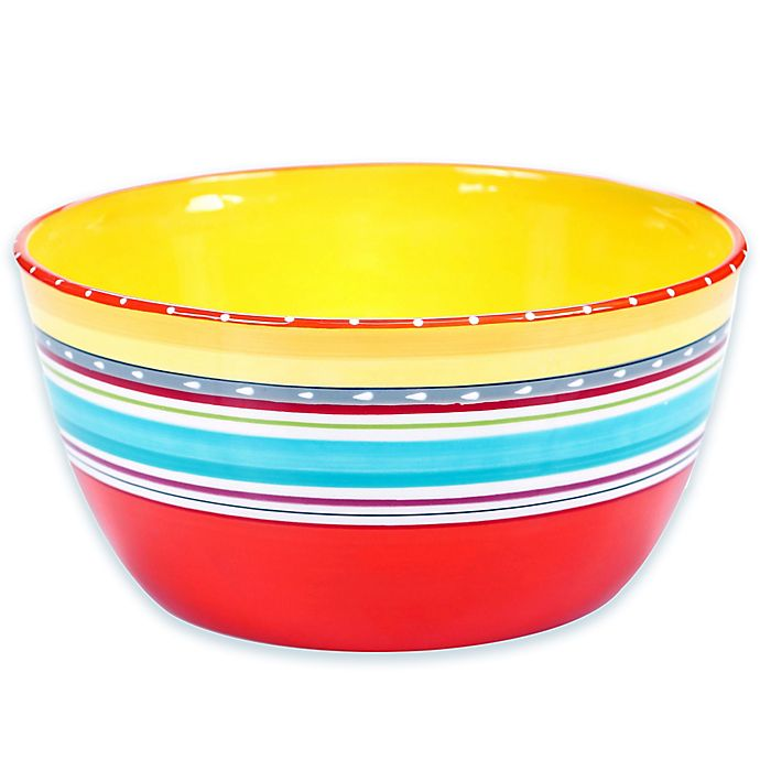 Certified International Mariachi Deep Serving Bowl Bed Bath Beyond