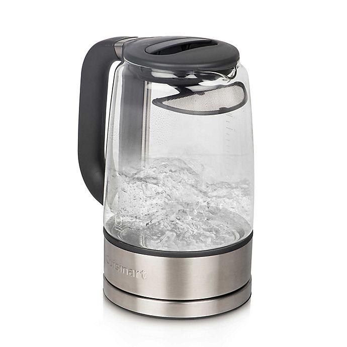 Alternate image 1 for Cuisinart® 1.7-Liter ViewPro™ Electric Cordless Tea Kettle