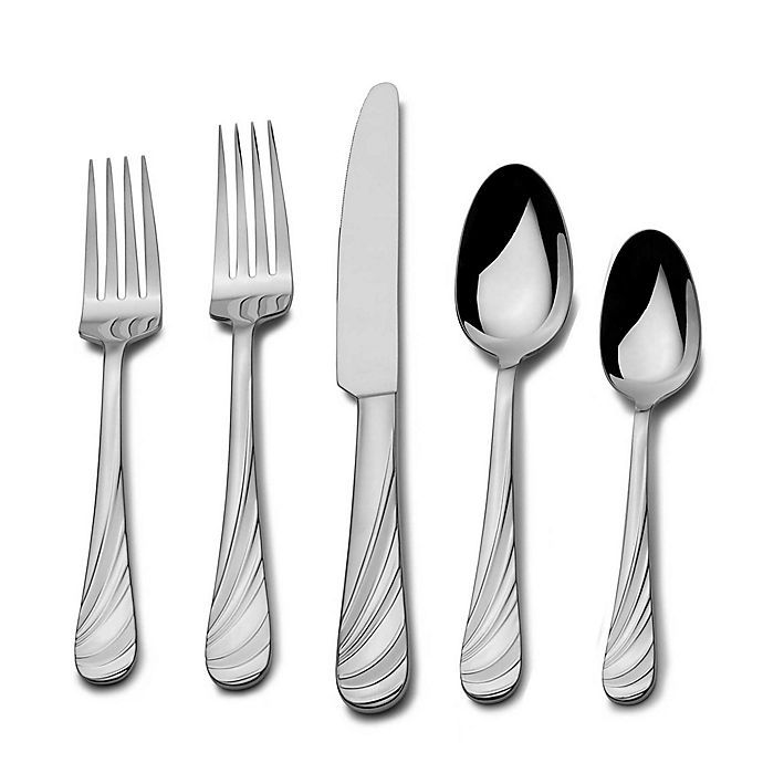 Alternate image 1 for Mikasa® Swirl 20-Piece Flatware Set