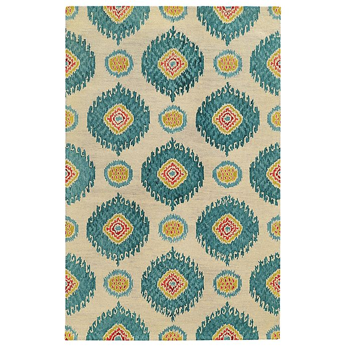 Alternate image 1 for Tommy Bahama® Jamison Circles Rug in Ivory