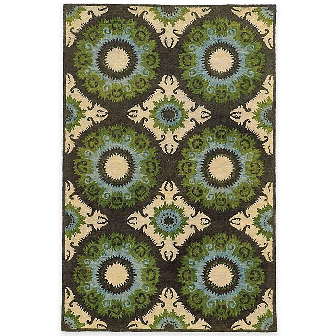 Alternate image 1 for Tommy Bahama® Jamison Abstract 3-Foot 6-Inch x 5-Foot 6-Inch Area Rug in Blue
