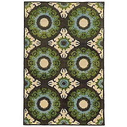 Tommy Bahama® Jamison Abstract Rug in Blue