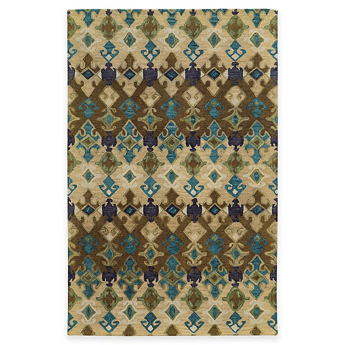 Alternate image 1 for Tommy Bahama® Jamison Geometric 8-Foot x 10-Foot Area Rug in Brown