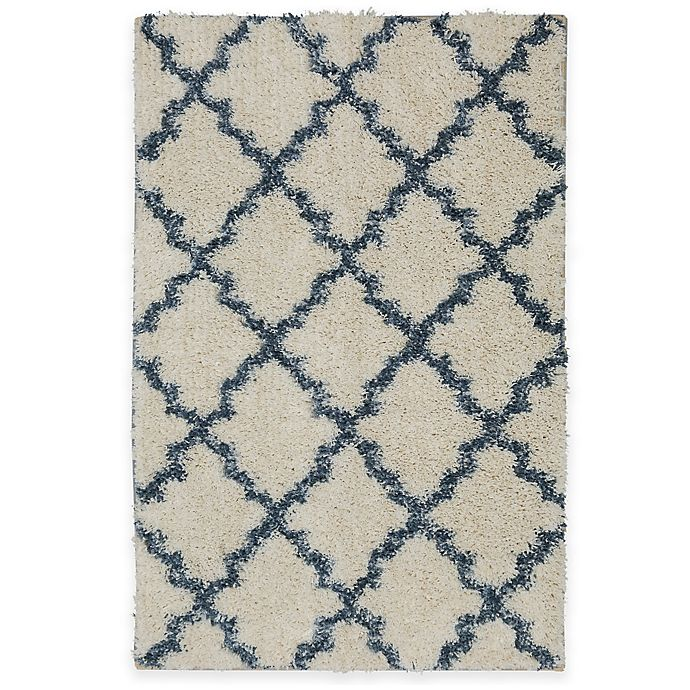 Alternate image 1 for Mohawk Vale Rug in Birch/Blue
