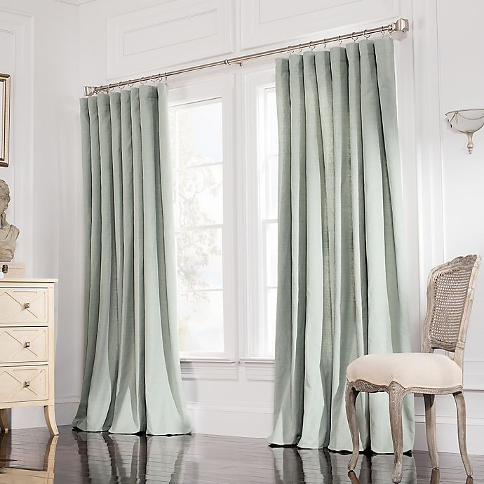 Alternate image 1 for Valeron Estate 120-Inch Rod Pocket Insulated Double-Width Window Curtain Panel in Spruce