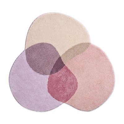 Grund® Shambala 4-Foot Round Bath Rug in Pink