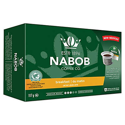 12-Count NABOB Coffee Co. Breakfast Blend  for Single Serve Coffee Makers