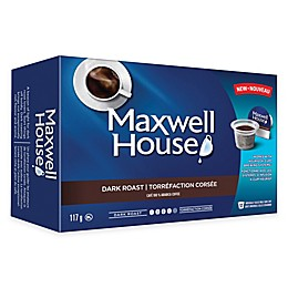 12-Count Maxwell House® Dark Roast Coffee for Single Serve Coffee Makers