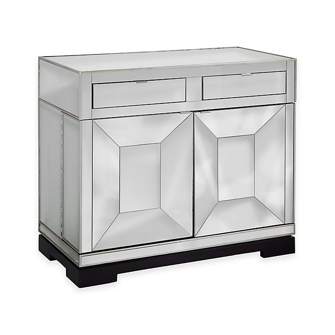Bassett Coupon: Bassett Mirror Company Taney Rolling Bar Cabinet In