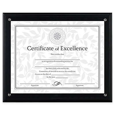DAX® 8.5-Inch x 11-Inch Award Plaque Frame in Black
