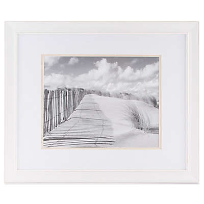 Real Simple® 11-Inch x 14-Inch Distressed Portrait Wall Frame in White