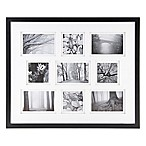Real Simple® 9-Photo Collage Frame in Black