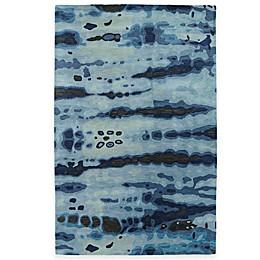 Kaleen Brushstrokes Dye Rug