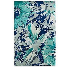 Kaleen Brushstrokes Floral Rug