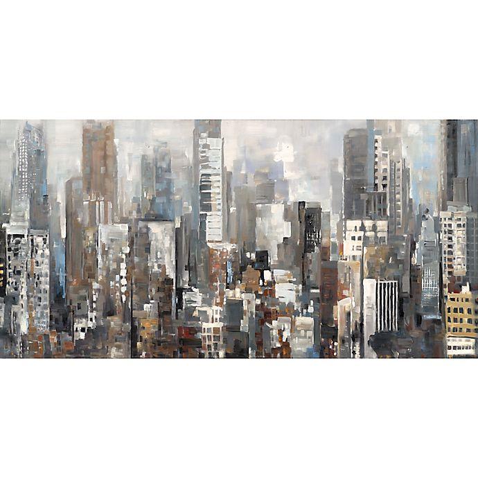 Alternate image 1 for Portfolio Arts Group City Silhouettes Wall Art