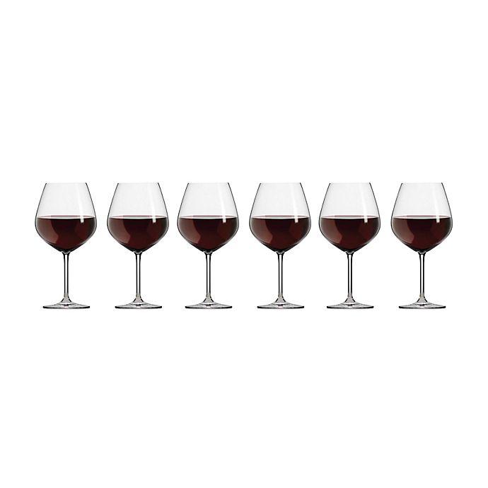 Alternate image 1 for Schott Zwiesel Tritan Forte Claret Burgundy Wine Glasses (Set of 6)