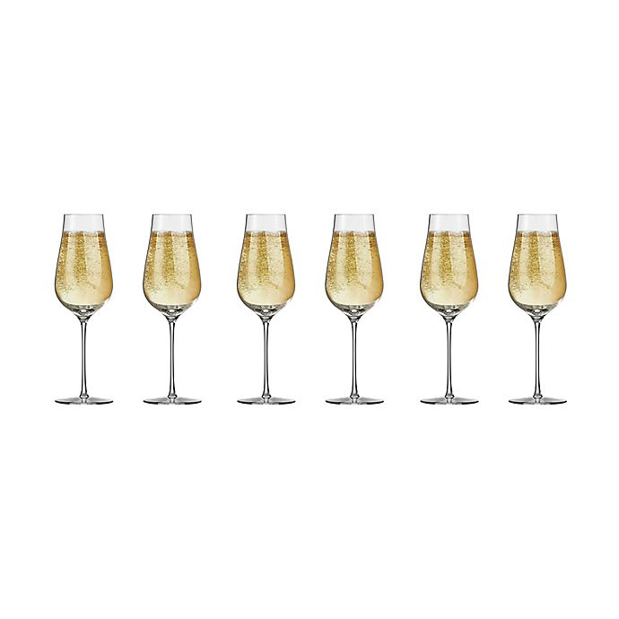 Alternate image 1 for Schott Zwiesel Tritan Air Champagne Flutes (Set of 6)