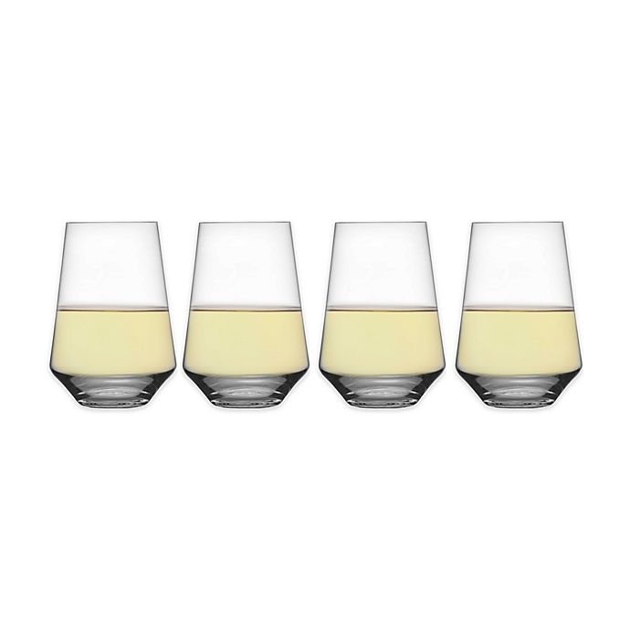 Alternate image 1 for Schott Zwiesel Tritan Pure Stemless Wine Glasses (Set of 4)
