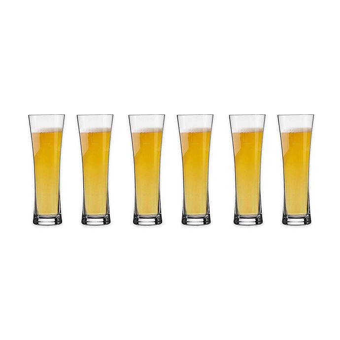 Alternate image 1 for Schott Zwiesel Tritan Beer Basic 14.2 oz. Wheat Beer Glasses (Set of 6)
