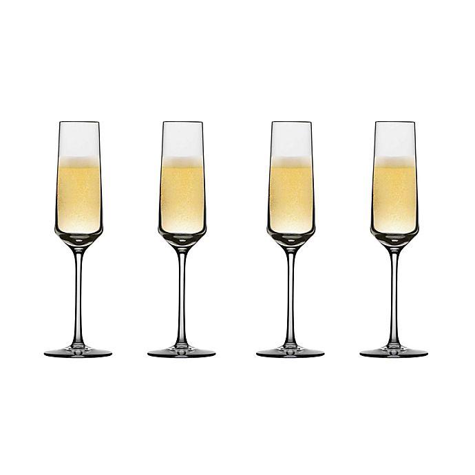 Alternate image 1 for Schott Zwiesel Tritan Pure Champagne Flutes (Set of 4)