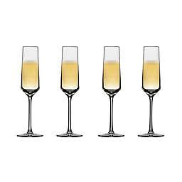 Schott Zwiesel Tritan Pure Champagne Flutes (Set of 4)