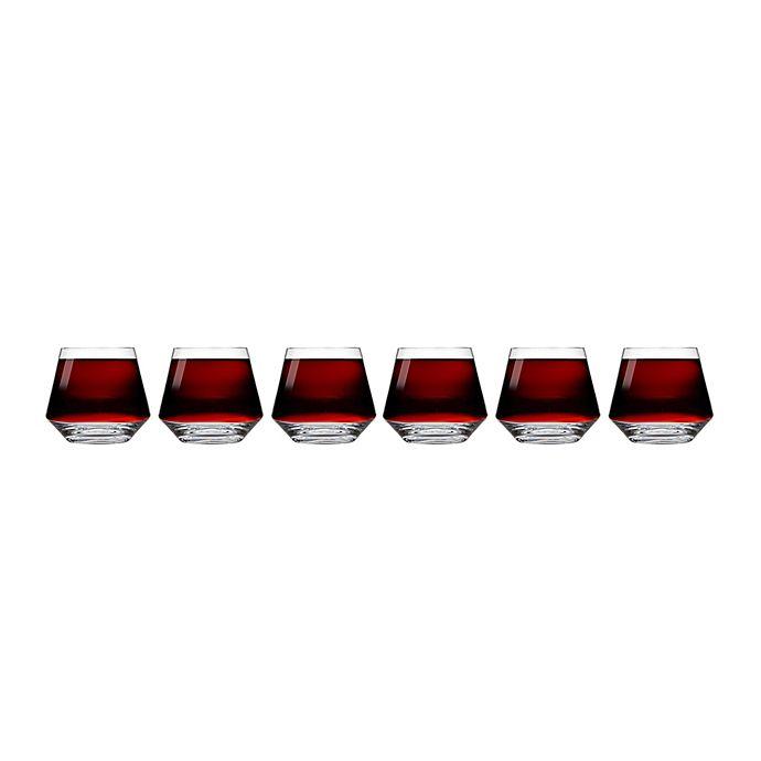 Alternate image 1 for Schott Zwiesel Tritan Pure Burgundy Stemless Wine Glasses (Set of 6)