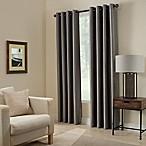 Paradise 84-Inch Room Darkening Grommet Top Window Curtain Panel in Pepper