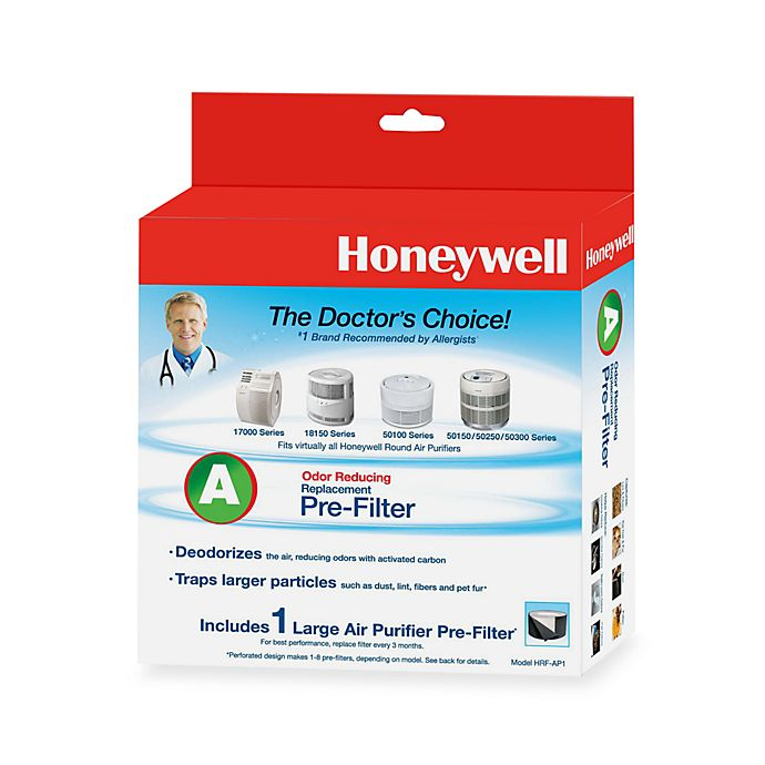 Alternate image 1 for Honeywell Universal Replacement Pre-Filters