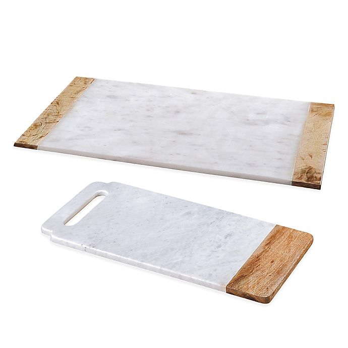 Alternate image 1 for Creative Home Taj Elite Marble Cutting Board