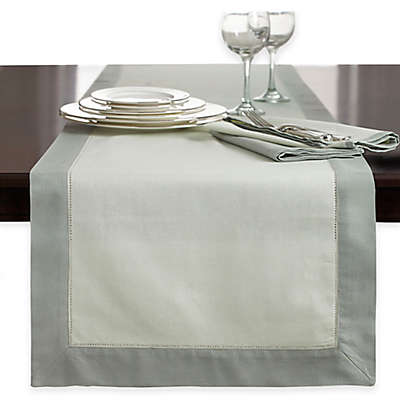 Wamsutta® Bordered Linen Table Runner
