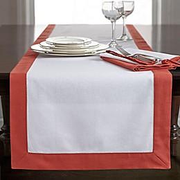 Wamsutta® Bordered Linen Table Runner