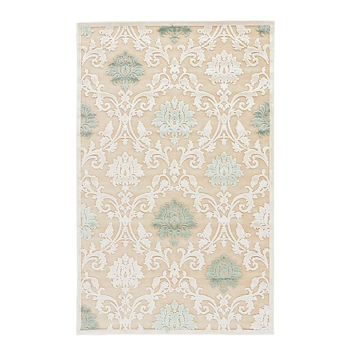 Alternate image 1 for Jaipur Fables Glamorous 9-Foot x 12-Foot Area Rug in Tan