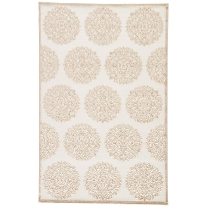 Alternate image 1 for Jaipur Fables Mythical Area Rug in Ivory/Tan