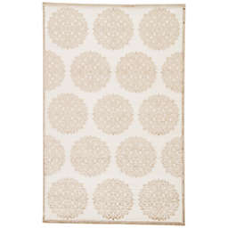 Jaipur Fables Mythical Area Rug in Ivory/Tan