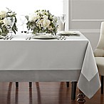 Wamsutta® Bordered Linen 70-Inch x 120-Inch Oblong Tablecloth in Grey