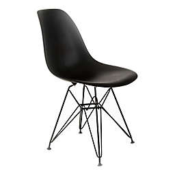 Design Guild Banks Chair with Black Legs