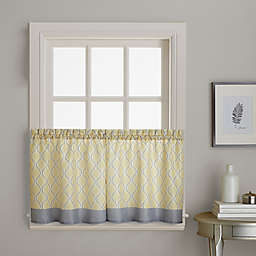 Morocco 2-Pack 36-Inch Window Curtain Tiers in Gold