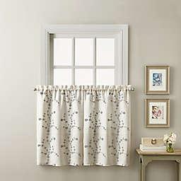 Lynette 36-Inch Window Curtain Tier Pair in Grey