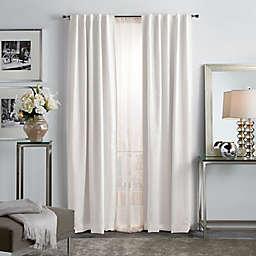 Martha Stewart Park Avenue 2-Pack 84-Inch Backtab Room Darkening Window Curtain Panels in Blush